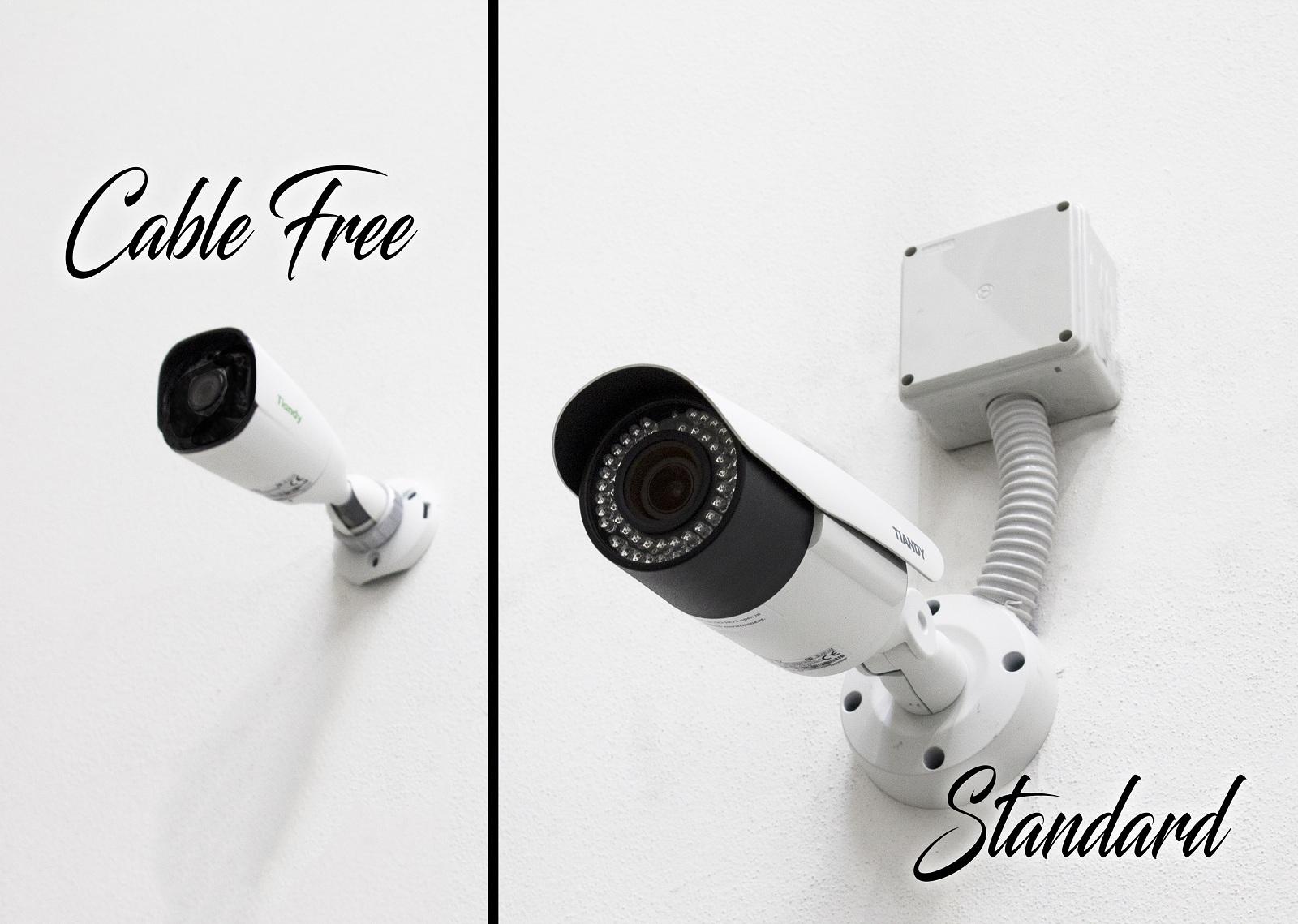 Differenza tra una telecamera Standard e una cable free
